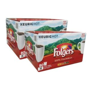 Folgers Gourmet Selections Lively Colombian K Cups 160 Count