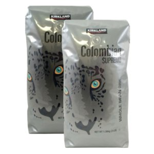 Kirkland Signature Colombian Supremo Whole Bean 6 Lbs