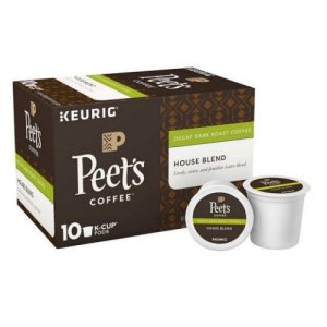 Peet's House Blend Decaf 120 Single Cups