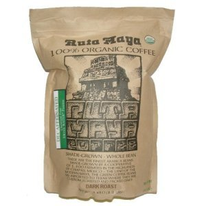 Ruta Maya Organic Decaffeinated Dark Roast Coffee 4.4 Lbs